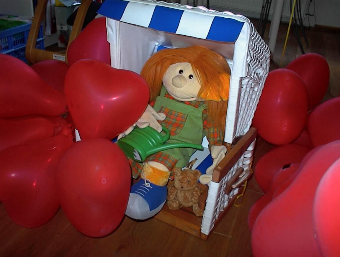Adelheit und Ballons