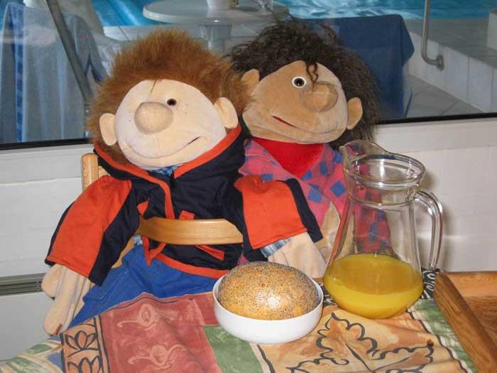 Crazy Jim und Lukas