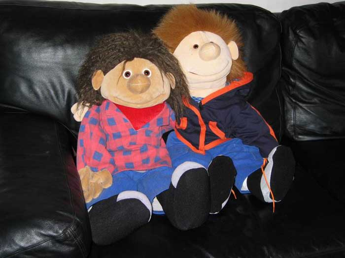 Lukas und Crazy Jim
