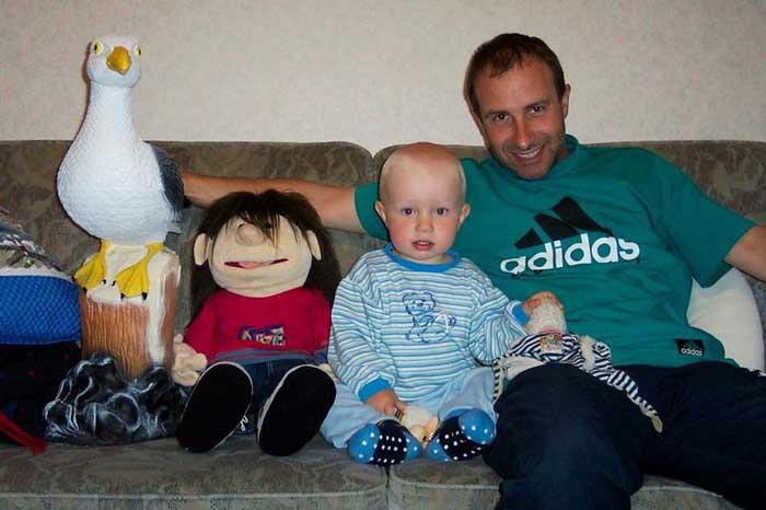 Alex und seine neue Familie