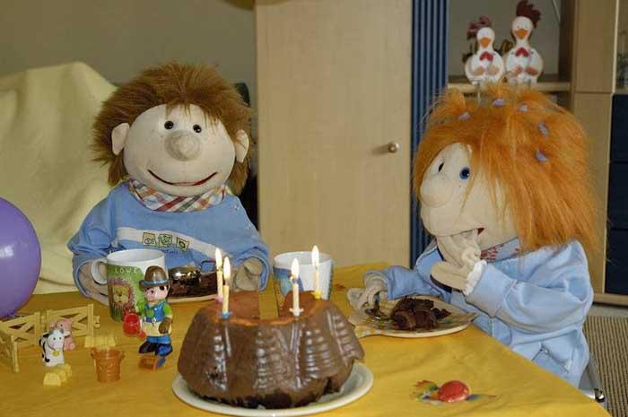 Lukas und Betty und der Kuchen