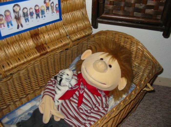 Nik im Bett