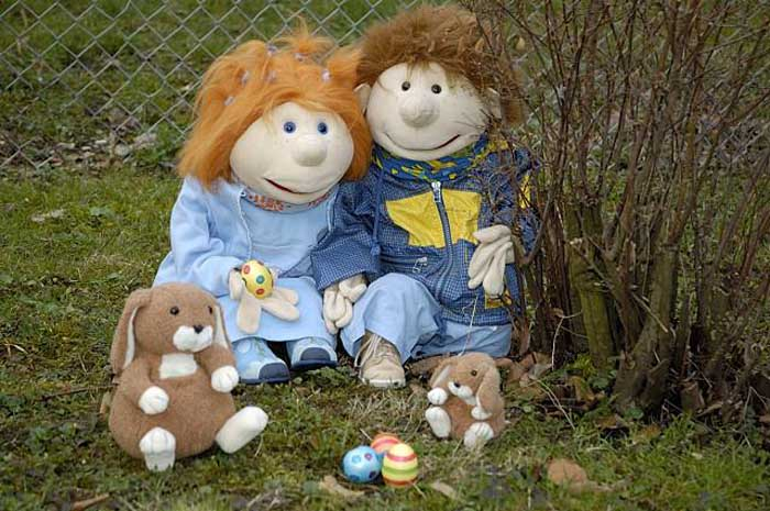 Ostern bei Betty und Lukas