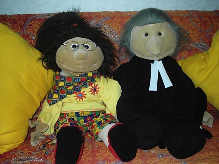 Shila und Pastor