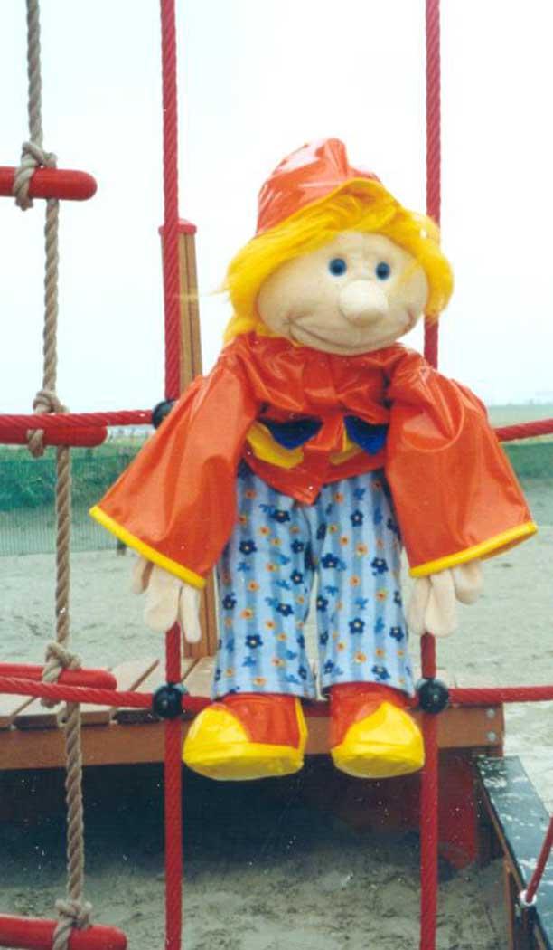 Janna am Strand