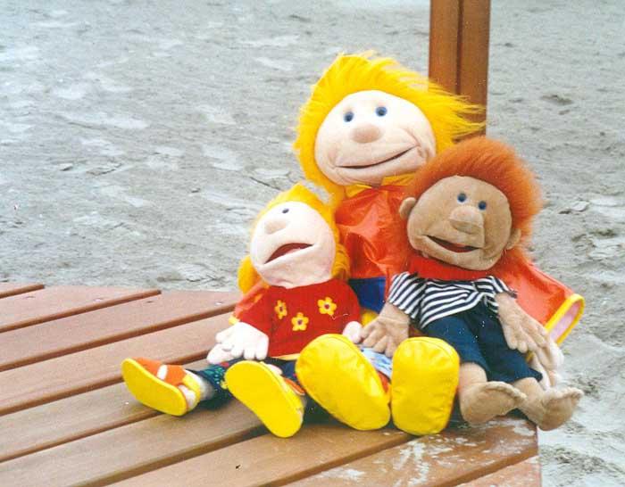 Janna, Ginger und Klein-Jule