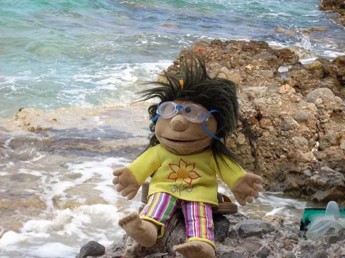 Lou in Griechenland