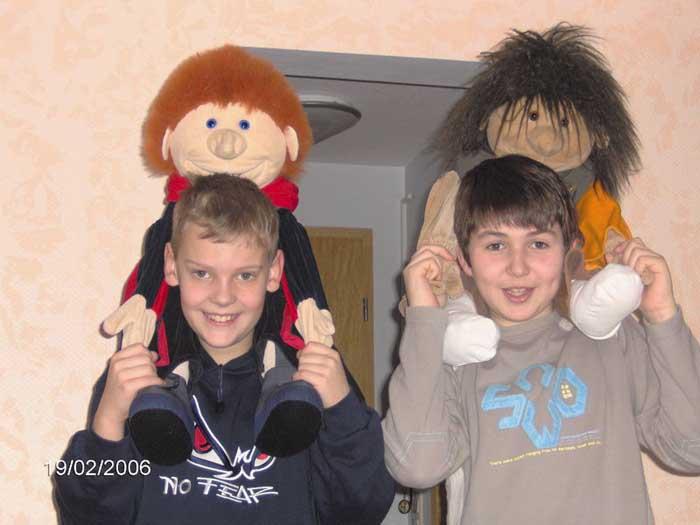 Marvin und Malte und 2 Freunde