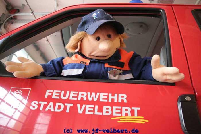 Floribert bei der Feuerwehr