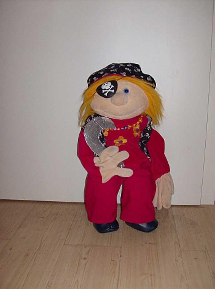 Jule als Pirat